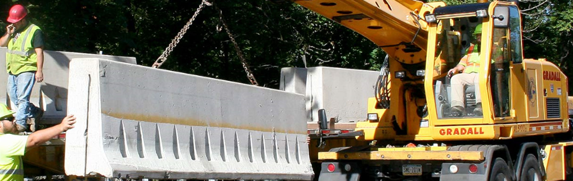 Lifting Concrete Barrier